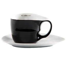 Colani Porzellanserie Colani Jumbotasse 2-tlg. schwarz