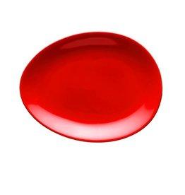 Colani Porzellanserie Colani Dessertteller rot