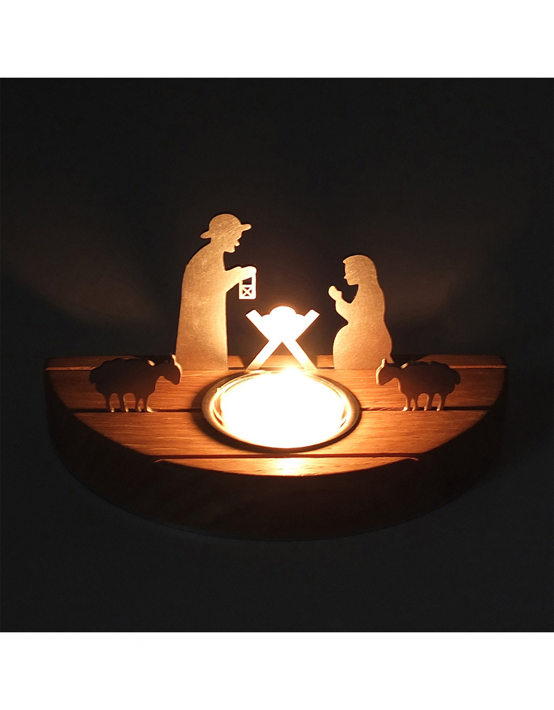 unoferrum - SILHOUETTE SILHOUETTE Weihnachtskrippe S I eiche I unoferrum