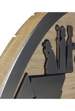 unoferrum - SILHOUETTE SILHOUETTE Krippe L I eiche I unoferrum I Holz + Stahl