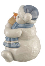 """Goebel Porzellanmanufaktur Schneemann """"Mein kleines Geschenk"""" I Geschenk I Goebel"""