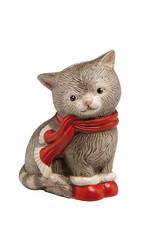 Goebel Porzellanmanufaktur Kater Ruby I Goebel Porzellan I Katze mit Schal und Stiefel