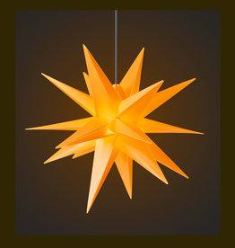 DecoTrend Weihnachtssterne Weihnachtsstern, gelb, 65 cm