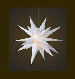 DecoTrend Weihnachtssterne Weihnachtsstern, weiß, 55 cm