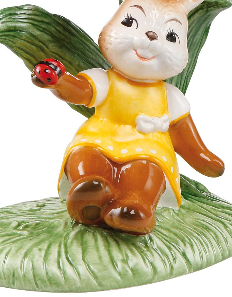 "Goebel Porzellanmanufaktur Hase mit Tulpe  I ""Ein herrlicher Tag"" I Goebel Porzellan"
