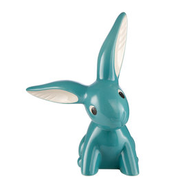 Goebel Porzellanmanufaktur Turquoise Bunny