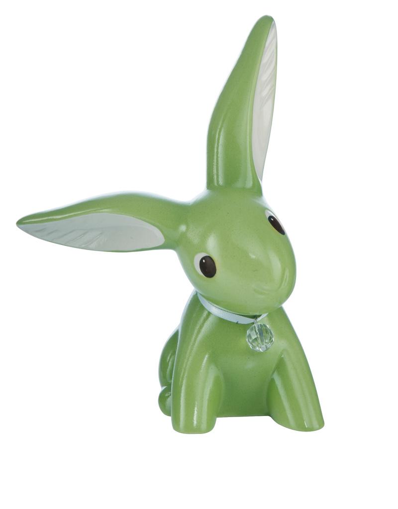 Goebel Porzellanmanufaktur Green Big Bunny I Bunny de luxe I Goebel Porzellan I modern