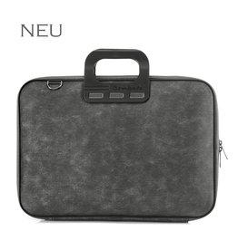 """Bombata Taschen Laptoptasche Denim 15,6"""", schwarz"""