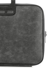 """Bombata Taschen Laptoptasche 15,6"""" I Bombata Denim I Notebooktasche schwarz"""