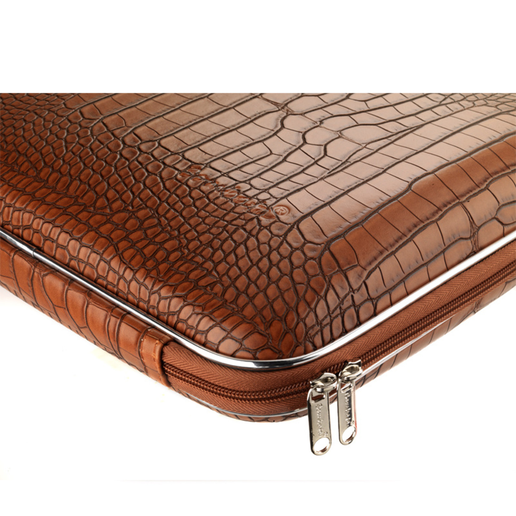 "Bombata Taschen Laptoptasche 15,6"" I Bombata Shiny Cocco I Notebooktasche weinrot"
