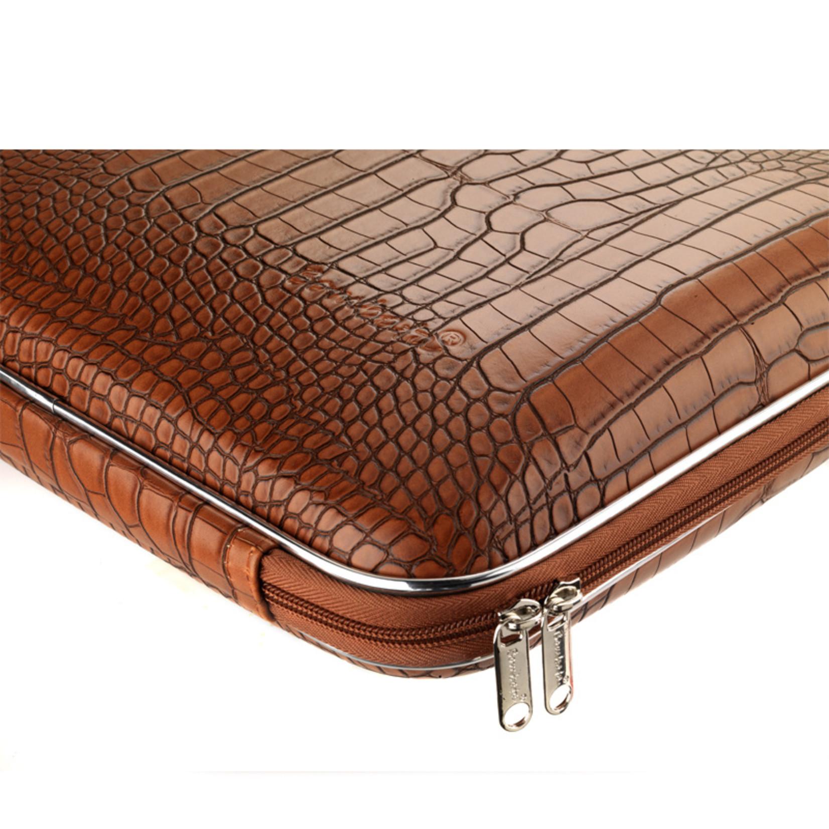 """Bombata Taschen Laptoptasche 15,6"""" I Bombata Shiny Cocco I Notebooktasche violett"""
