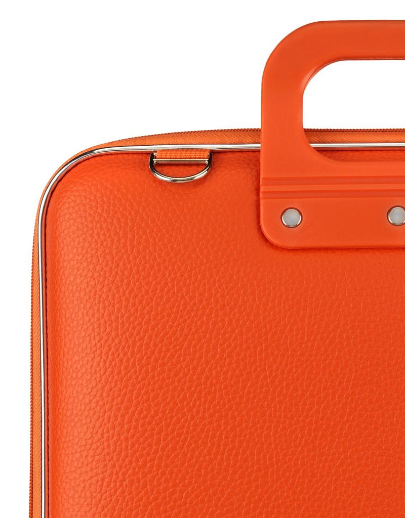 "Bombata Taschen Laptoptasche 13"" I Mediobombata Classic I Notebooktasche orange"