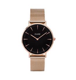 Cluse Cluse Uhr La Bohème roségold-schwarz