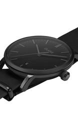 Cluse Cluse Uhr Aravis schwarz I Leder schwarz I NATO-Armband