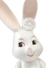 Goebel Porzellanmanufaktur Snow White Osterhase I Hasenmädchen mit Herz I Goebel Porzellan