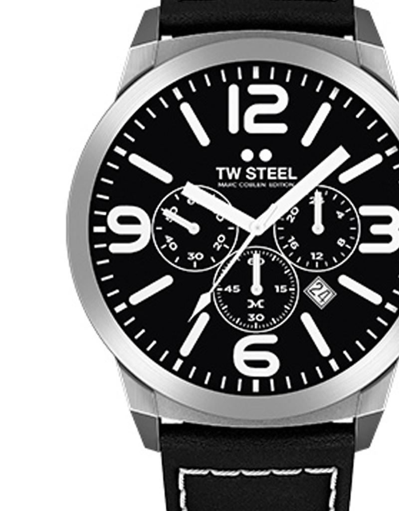 TW Steel Uhren im Sale TW Steel Uhr MC12 I 42 mm I Chronograph I schwarz-schwarz