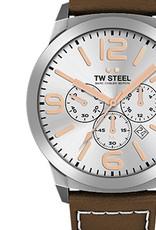 TW Steel Uhren im Sale TW Steel Uhr MC32 I 45 mm I Chronograph I silber-braun