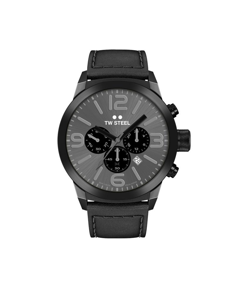 TW Steel Uhren im Sale TW Steel Uhr MC18 I 42 mm I Chronograph I schwarz