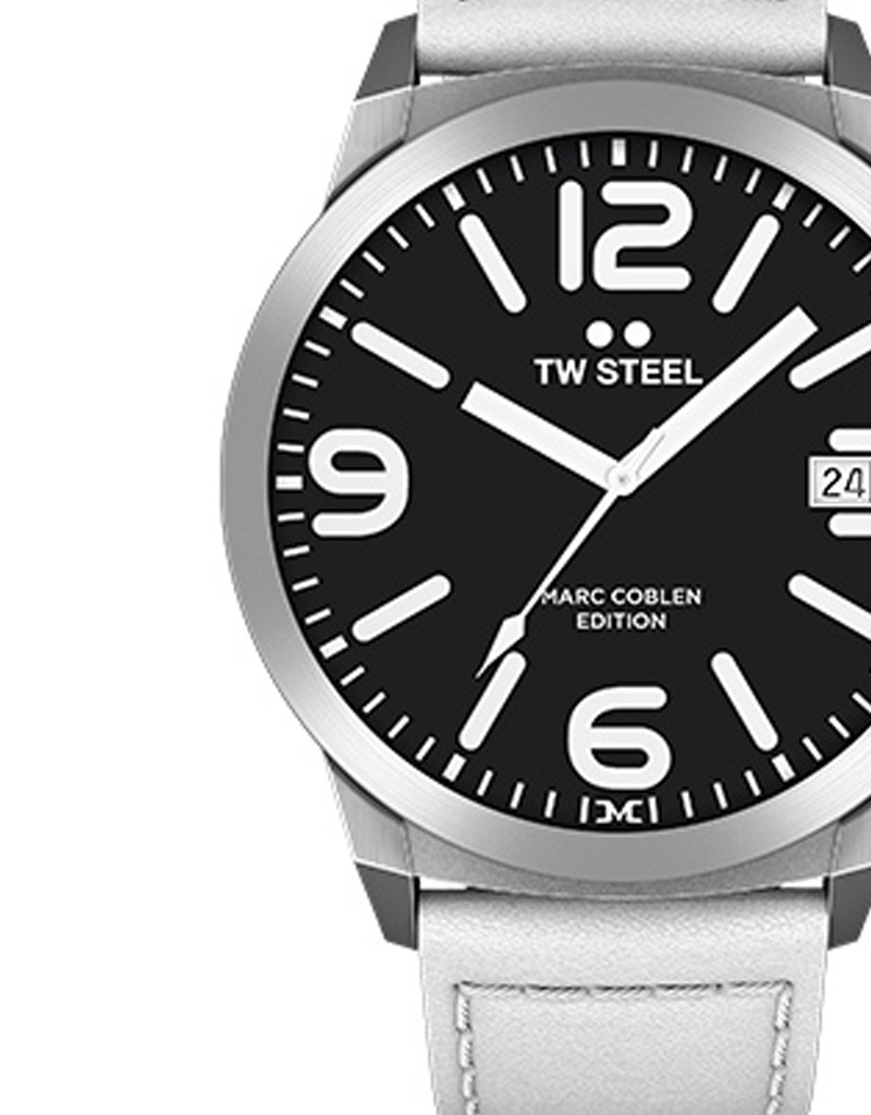 TW Steel Uhren im Sale TW Steel Uhr MC45 I 50 mm I weiß - schwarz - weiß
