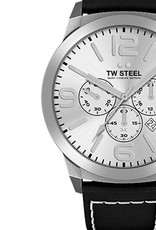 TW Steel Uhren im Sale TW Steel Uhr MC60 I 50 mm I Chronograph I silber-schwarz