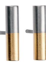 Ernstes Design Stahlschmuck Ohrstecker E20Bi I Ernstes Design I 12mm I Edelstahl