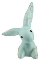 Goebel Porzellanmanufaktur Golden Blue Big Bunny I Bunny de luxe I Goebel Porzellan I modern
