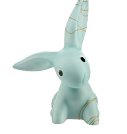 Goebel Porzellanmanufaktur Golden Blue Big Bunny, 25 cm