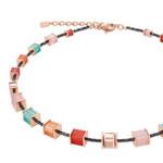 Coeur de Lion Schmuck Collier 4945/10-0231, koralle-mintgrün