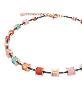 Coeur de Lion Collier 4945/10-0231, koralle-mintgrün