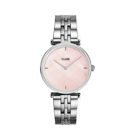 Cluse Cluse Uhr Triomphe  silber-pink pearl