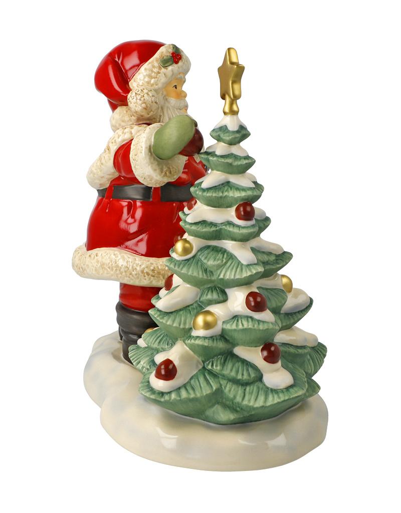 "Goebel Porzellanmanufaktur Weihnachtsmann ""Festlich geschmückt"" I limitiert I Goebel"