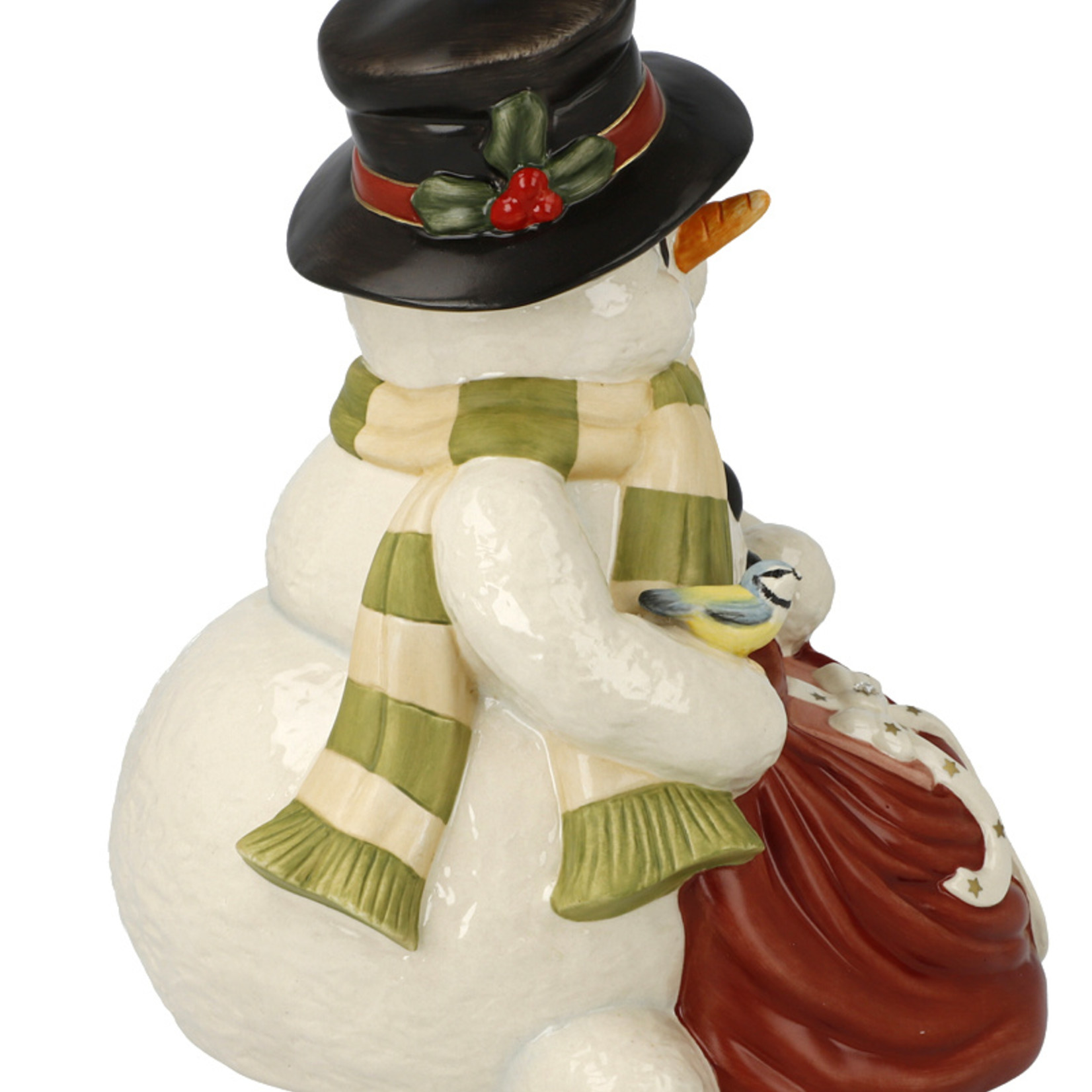 "Goebel Porzellanmanufaktur Schneemann ""Geschenke zum Fest"" I Goebel Porzellan I limitiert"