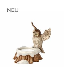 Goebel Porzellanmanufaktur Eule mit Teelicht