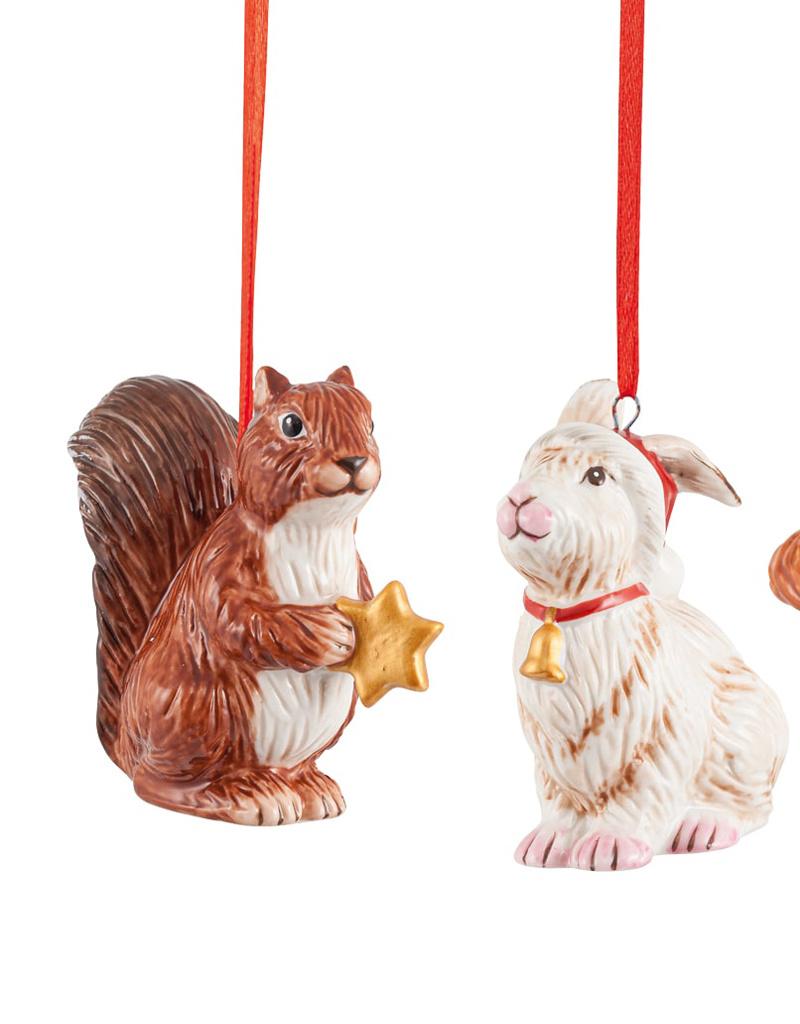 Villeroy & Boch  Hänger Set Waldtiere I Villeroy & Boch Nostalgic Ornaments
