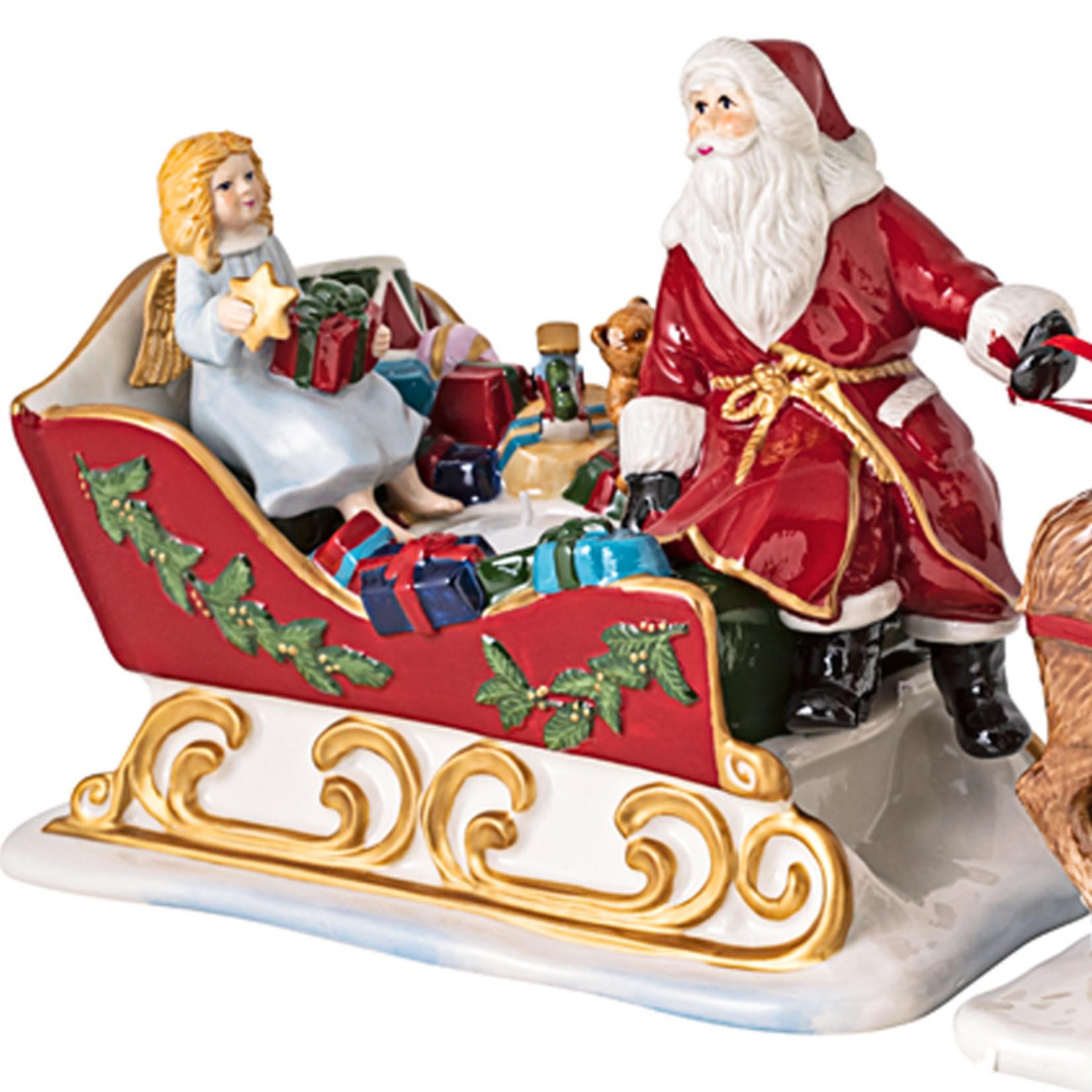 Villeroy & Boch  Schlitten mit Rentieren I Villeroy & Boch I Christmas Toys Nostalgie