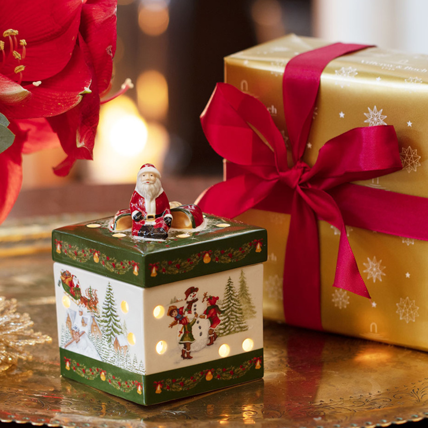 Villeroy & Boch  Windlicht, eckig   Villeroy & Boch   Geschenkpaket   Christmas Toys