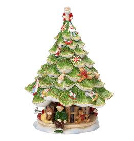 Villeroy & Boch  Villeroy & Boch Weihnachtsbaum Spieluhr + Windlicht