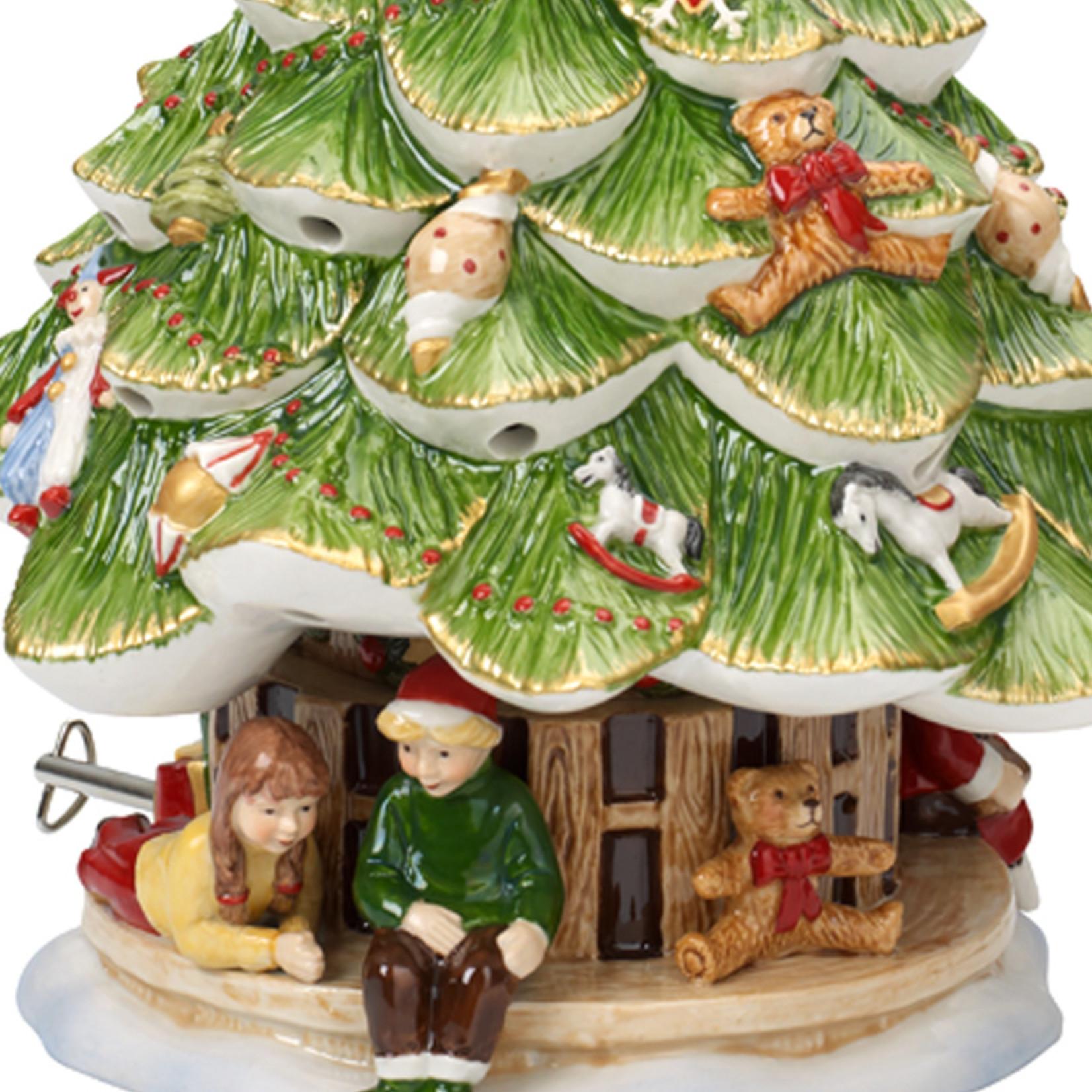 Villeroy & Boch  Spieluhr + Windlicht Weihnachtsbaum | Villeroy & Boch | Christmas Toys Memory