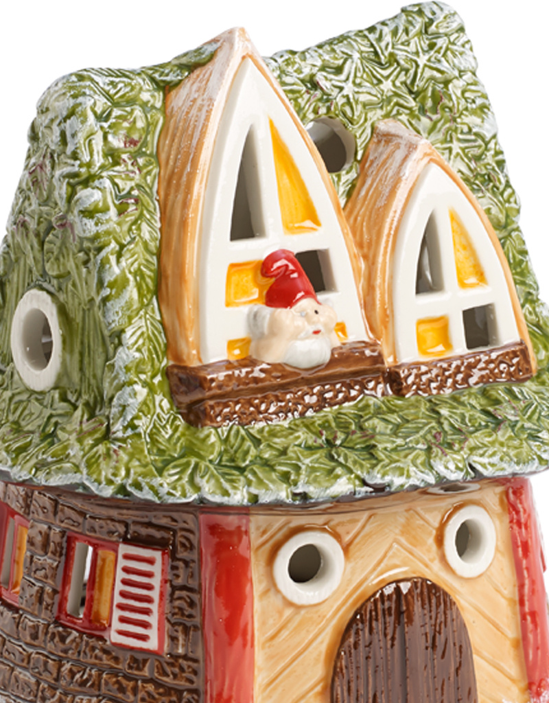 Villeroy & Boch  Windlicht Zwergenhaus I Villeroy & Boch I für Teelicht I Fairytale park