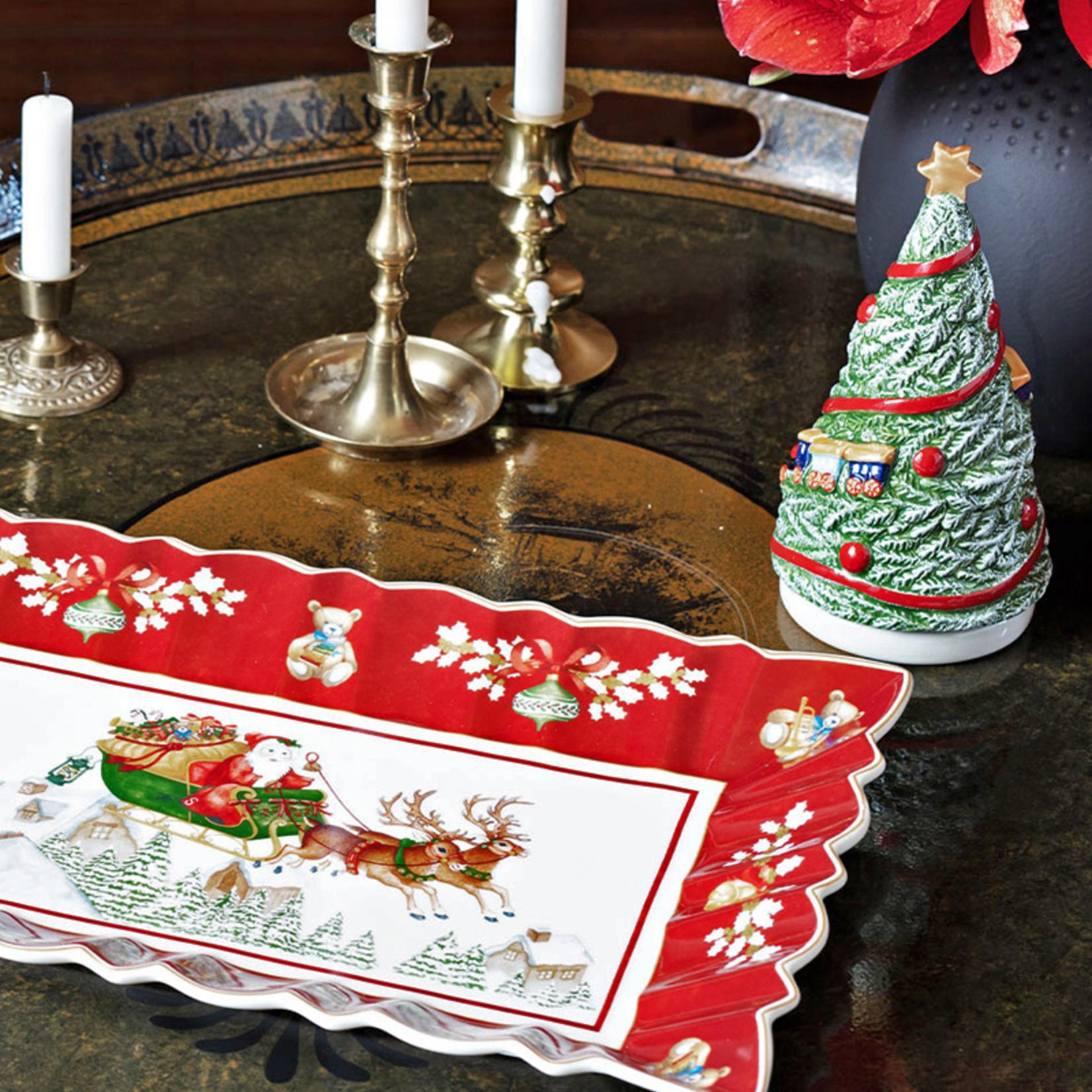 Villeroy & Boch  Villeroy & Boch Kuchenplatte, eckig I Toy´s Fantasy I Santa