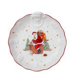 Villeroy & Boch  Villeroy & Boch Schale, Weihnachtsmann Relief