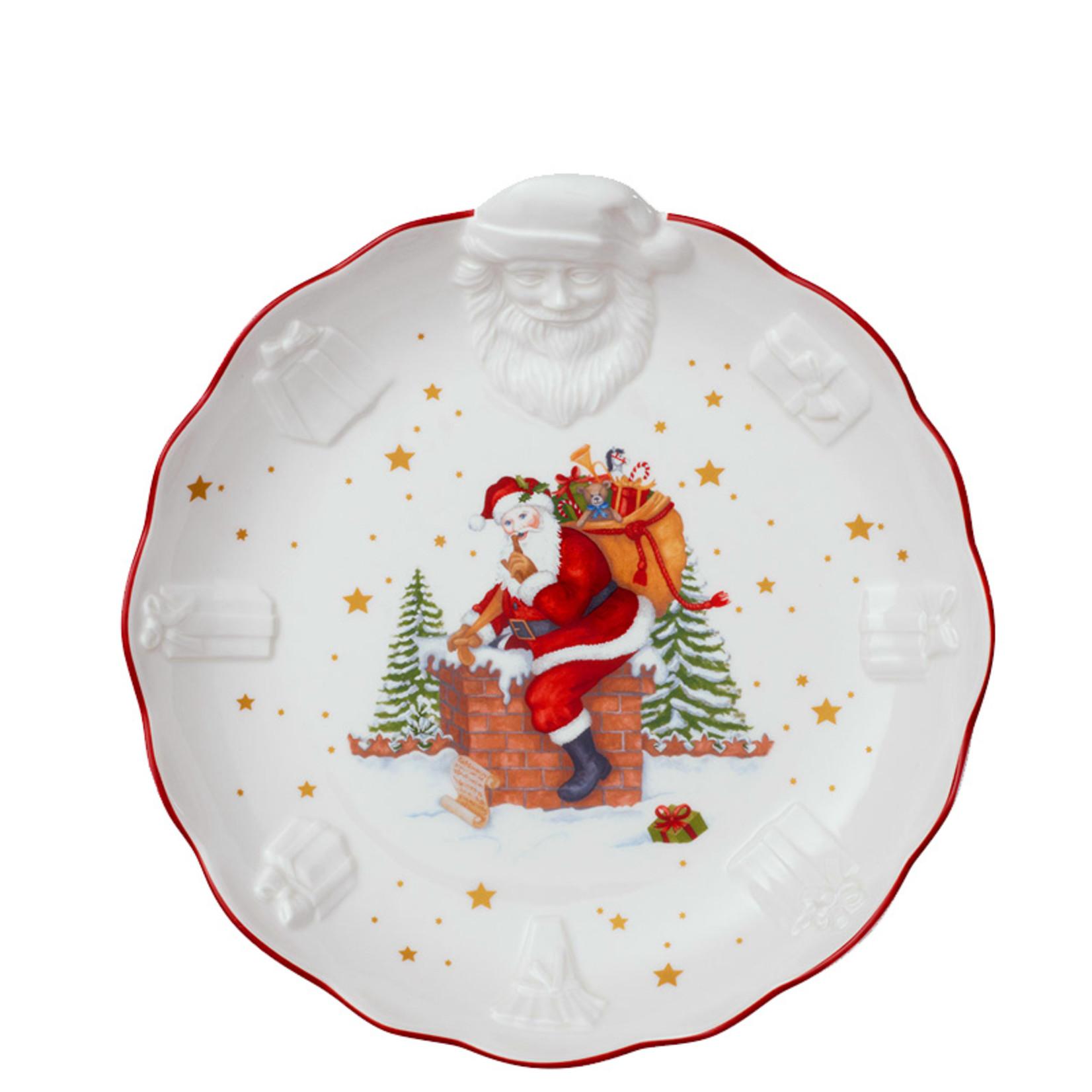 Villeroy & Boch  Villeroy & Boch Schale I Toy´s Fantasy I Weihnachtsmann Relief