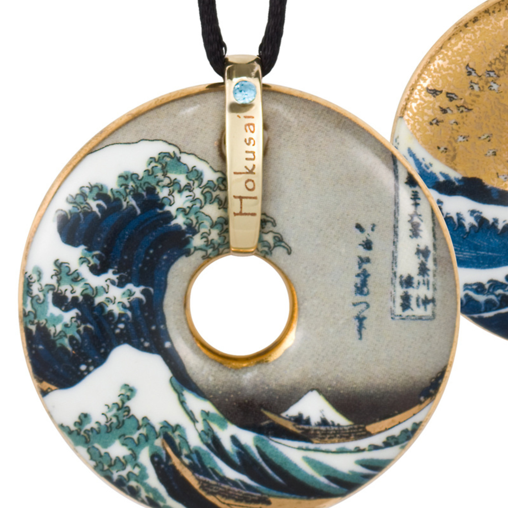 Goebel Porzellanmanufaktur Kette The Wave I Goebel Porzellan I Katsushika Hokusai