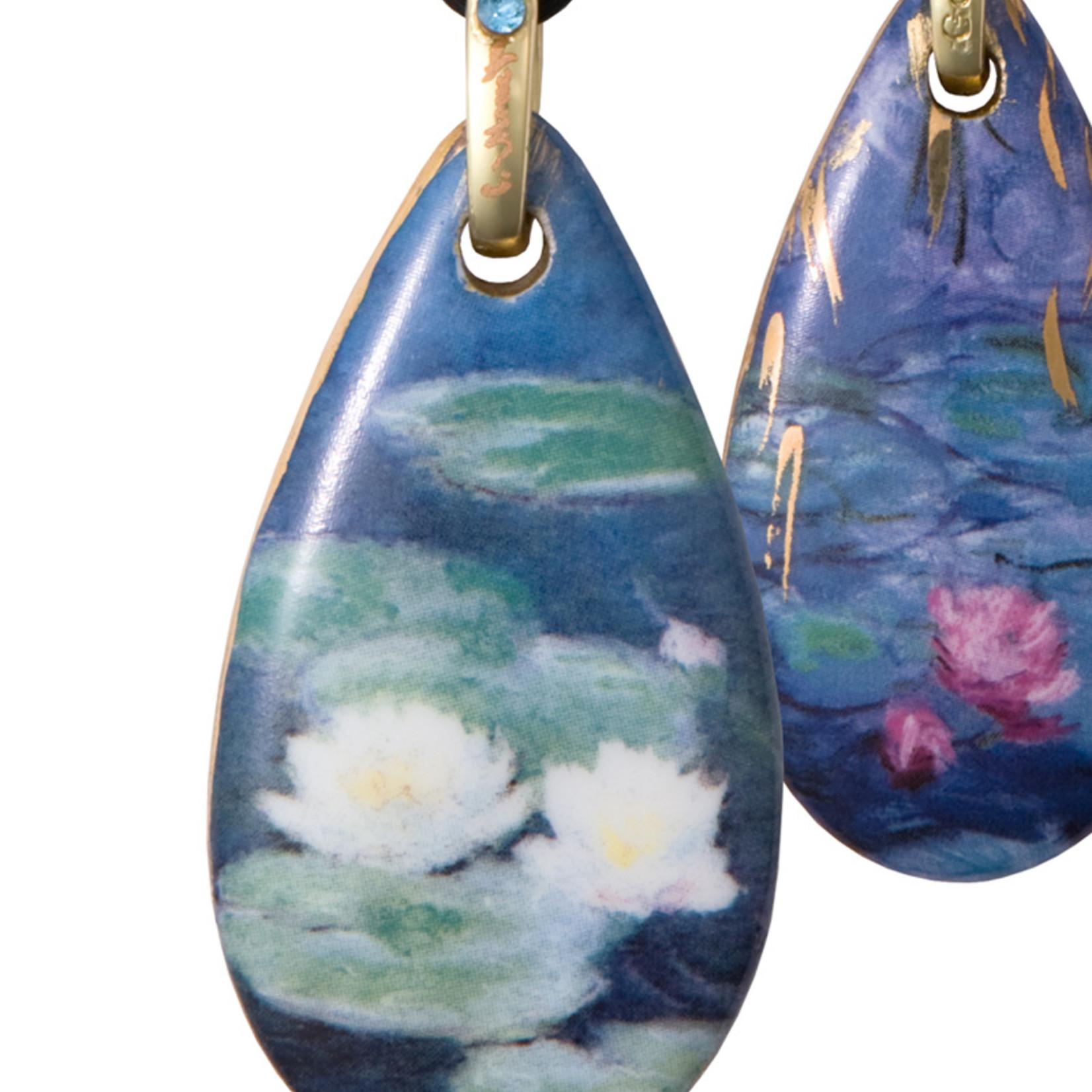 Goebel Porzellanmanufaktur Kette Seerosen am Abend I Claude Monet I Goebel Porzellan