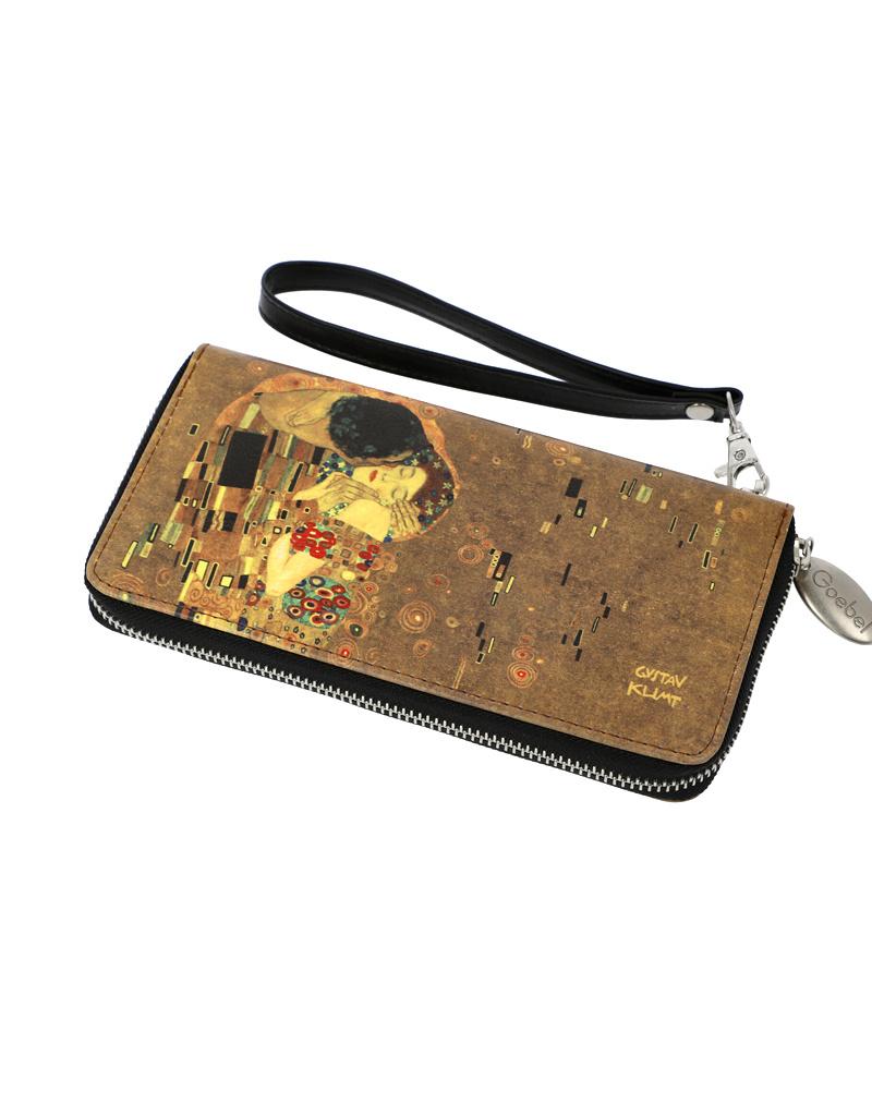 "Goebel Porzellanmanufaktur Geldbörse ""Der Kuss"" | Gustav Klimt | Goebel Accessoires"