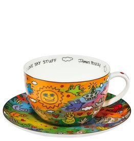Goebel Porzellanmanufaktur Tasse I Love Sky Stuff -  J.Rizzi