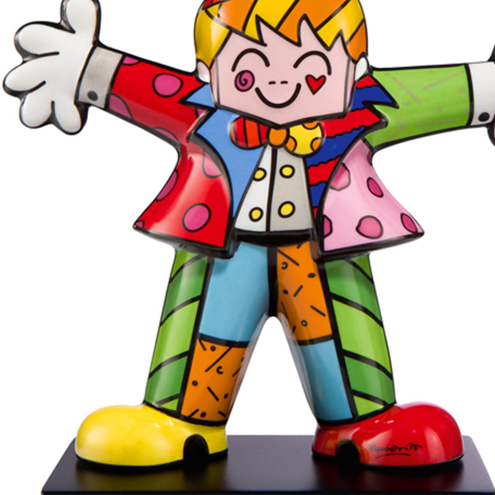Goebel Porzellanmanufaktur Figur Hug Too   Romero Britto   Goebel Porzellan