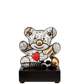 Goebel Porzellanmanufaktur Figur Golden Truly Yours -  R. Britto