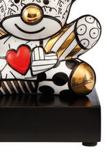 Goebel Porzellanmanufaktur Figur Golden Truly Yours    Romero Britto   Goebel Porzellan