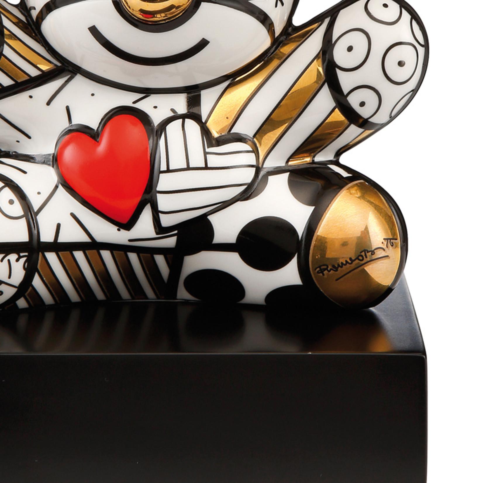 Goebel Porzellanmanufaktur Figur Golden Truly Yours  | Romero Britto | Goebel Porzellan